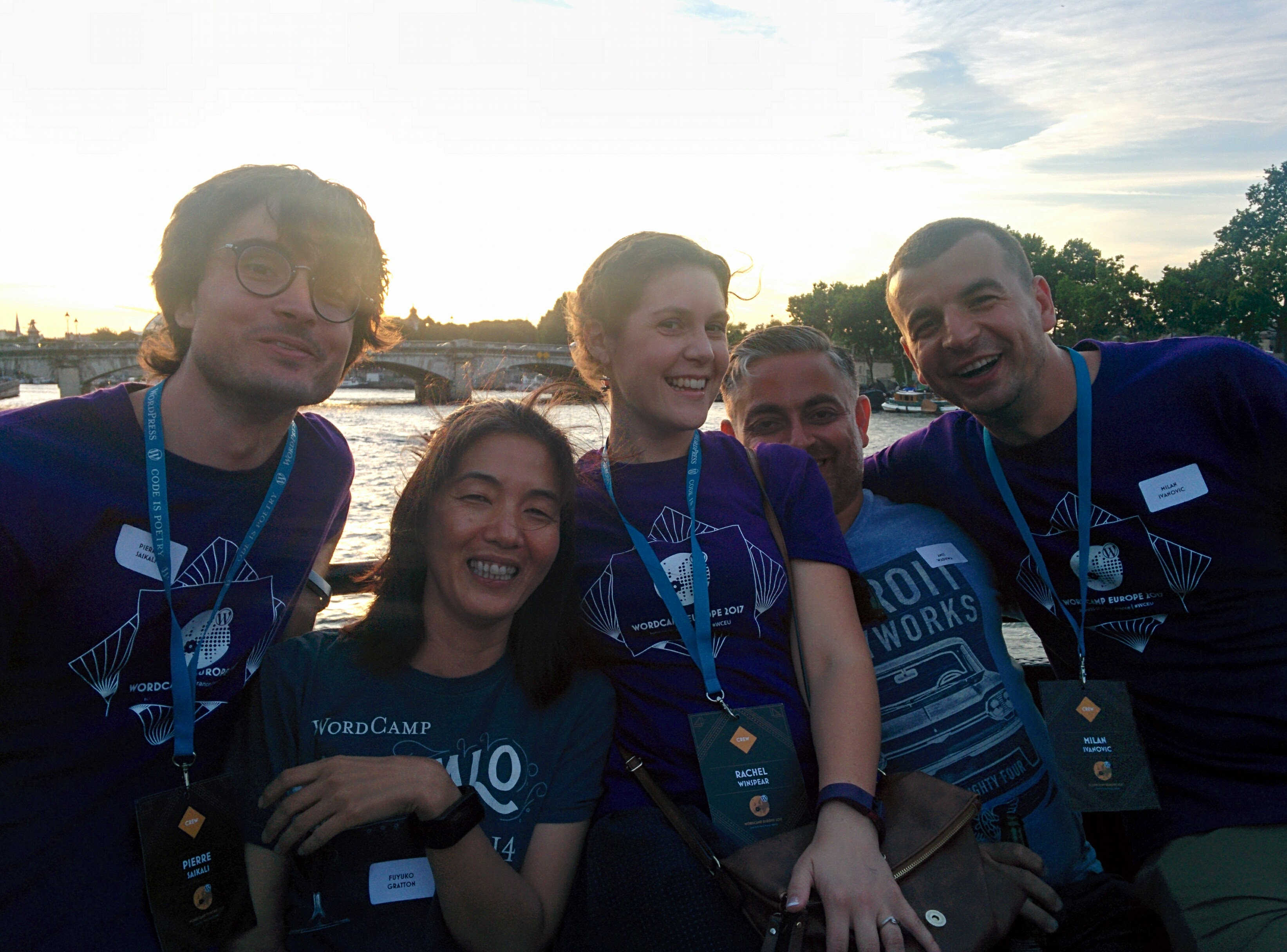 Volunteering at WCEU 2017 Paris