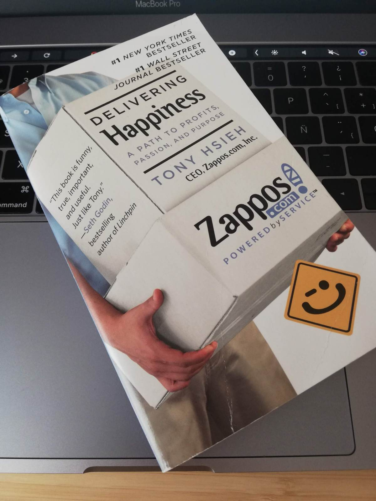 Delivering Happiness by Tony Hsieh - Book review